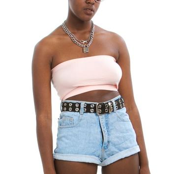 Vintage 90's It's Summer Somewhere High-Rise Shorts - M