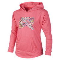 The Nike Sunset Ride Crew Pullover Girls' Sweatshirt.