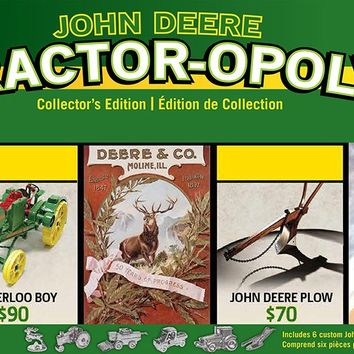 John Deere - Tractor-opoly - Monopoly Board Game