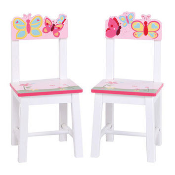 Butterfly Buddies Extra Chairs -Set Of 2