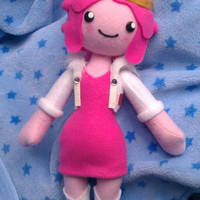 MADE TO ORDER, Inspired by Adventure Time, Princess Bubblegum Plush :3