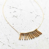 Crafts And Love Rose Necklace - Gold One