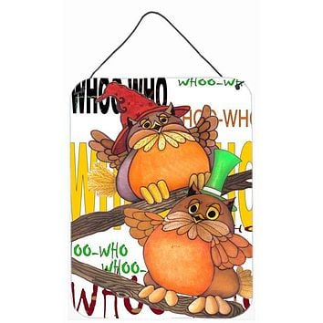 Whoo Who Owl Wall or Door Hanging Prints PJC1032DS1216
