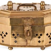 One Kings Lane - Chic Shop by Hillary Thomas - Mini Brass Cricket Box