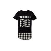 UNDERATED Extended Flannel T-Shirt