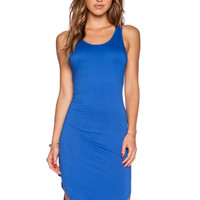 Robby Dress in Miami Blue