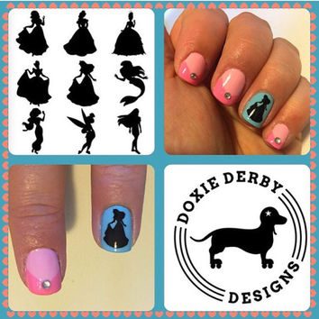 Disney Princess Nail Decals