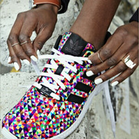Women's Adidas ZX Flux Multi Color Casual Sports Shoes