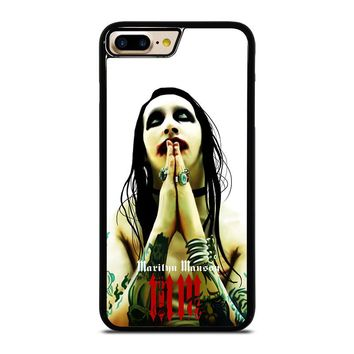 MARILYN MANSON GOTH iPhone  4/4S 5/5S/SE 6/6S 7 8 Plus X Case