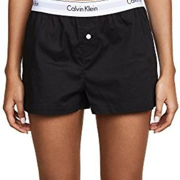 Calvin Klein Underwear Women's Modern Cotton Sleep Shorts