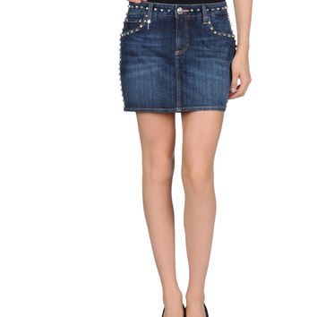 Burberry Brit Denim Skirt