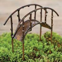 Bridge - Antiqued - My Fairy Gardens