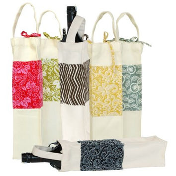 Fair Trade Wine Bottle Carrying Bag