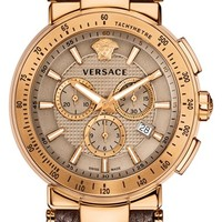 Men's Versace 'Mystique Sport' Chronograph Watch, 46mm