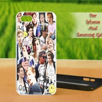 5SOS Luke Hemmings - Print on hard plastic case for iPhone case, Samsung Galaxy case and iPod case. Select an option