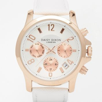 Daisy Dixon White Adriana Watch