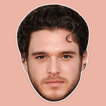 Sexy Kit Harington Mask - Perfect for Halloween, Costume Party Mask, Masquerades, Parties, Festivals, Concerts - Jumbo Size Waterproof Laminated Mask