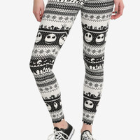 The Nightmare Before Christmas Jack Fair Isle Leggings