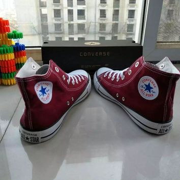 converse chuck taylor all star unisex sport casual high help shoes canvas shoes couple classic cloth shoes-3