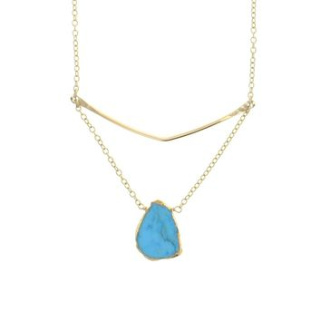 Gold Ariel Necklace | 2 Options