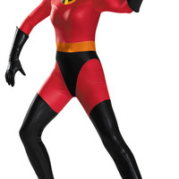 Disney's the Incredibles: Mrs. Incredible Bodysuit Adult Costume Plus