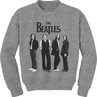 Beatles Crewneck Sweatshirt Grey Size XL