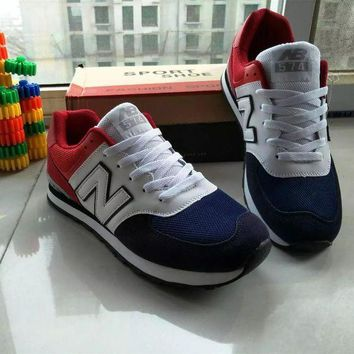ONETOW new balance fashion casual all match male female n words breathable couple sneakers