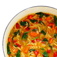 Italian Orzo Spinach Soup   Gimme Some Oven