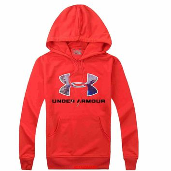 Under Armour Women Men Casual Long Sleeve Top Sweater Hoodie Pullover Sweatshirt-3