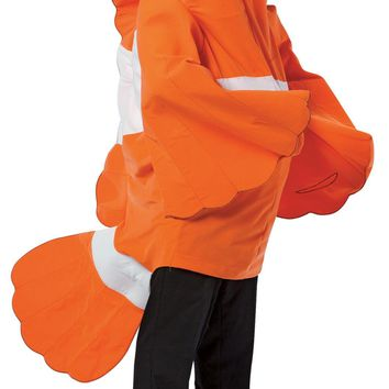 Clownfish Adult Halloween freak show circus carnival costume