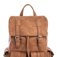 Brooklyn Multi-Pocket Boho Style Backpack Bag