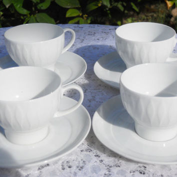 Vintage Thomas Demi Tea/coffee cups Made in Germany Set of 4