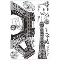 Roommate RMK1576GM Eiffel Tower Giant Wall Decals - Walmart.com