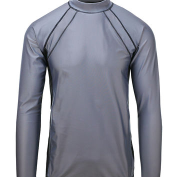 UV Skinz Steel Gray Long-Sleeve Rashguard