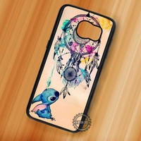 Cutie and Dream Catcher Lilo and Stitch Disney - Samsung Galaxy S8 S7 S6 Note 8 Cases & Covers
