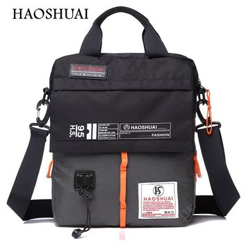 waterproof men casual oxford fabric messenger bags male high quality brand design cross body bags casual shoulder bags