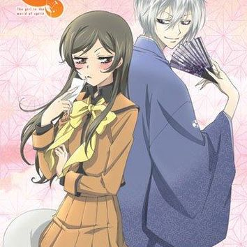 Fabric Poster - Kamisama Kiss - New Tomoe & Nanami Back to Back ge79010