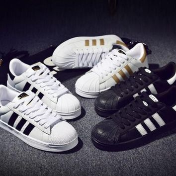 Hot SELL Adidas Superstar 80s Women Sneakers mens Casual shoes