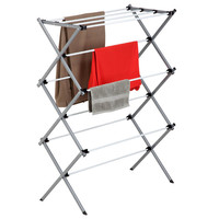 Deluxe Metal Drying Rack at Brookstone—Buy Now!