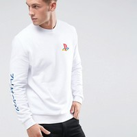 ASOS - Sweat-shirt à imprimé PlayStation at asos.com