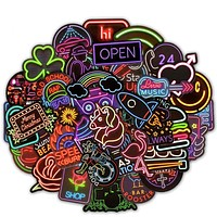 Neon Sticker Set