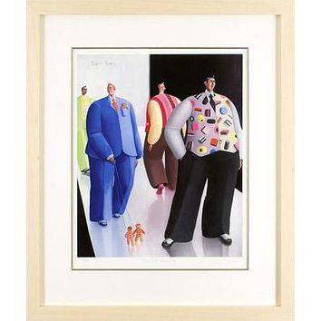 Sherbet Dandies - Limited Edition Giclee on Hahnemuhle Paper by Sarah Jane Szikora