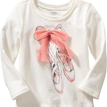 Ballet Graphic Tees for Baby