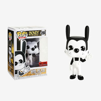 Funko Bendy And The Ink Machine Pop! Games Boris The Wolf Vinyl Figure