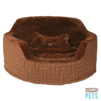 Martha Stewart Pets™ Bonequilt Snuggler Dog Bed