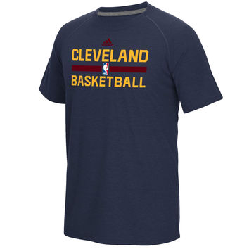 Men's Cleveland Cavaliers adidas Navy 2016 On-Court climalite Ultimate T-Shirt