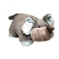 Pillow Pets 11 inch Pee Wees - Nutty Elephant:Amazon:Toys & Games