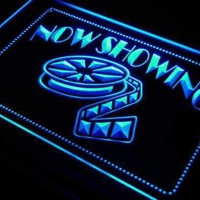 Movie Theater Now Showing Neon Sign (LED)