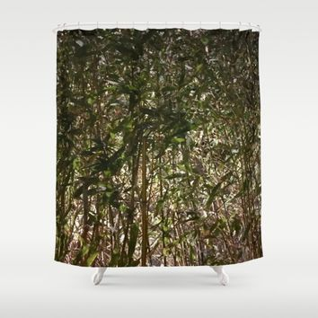 New York City Jungle Shower Curtain by UMe Images