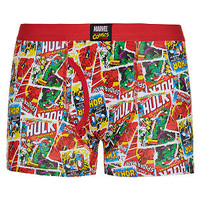 Red Marvel Comic Boxers